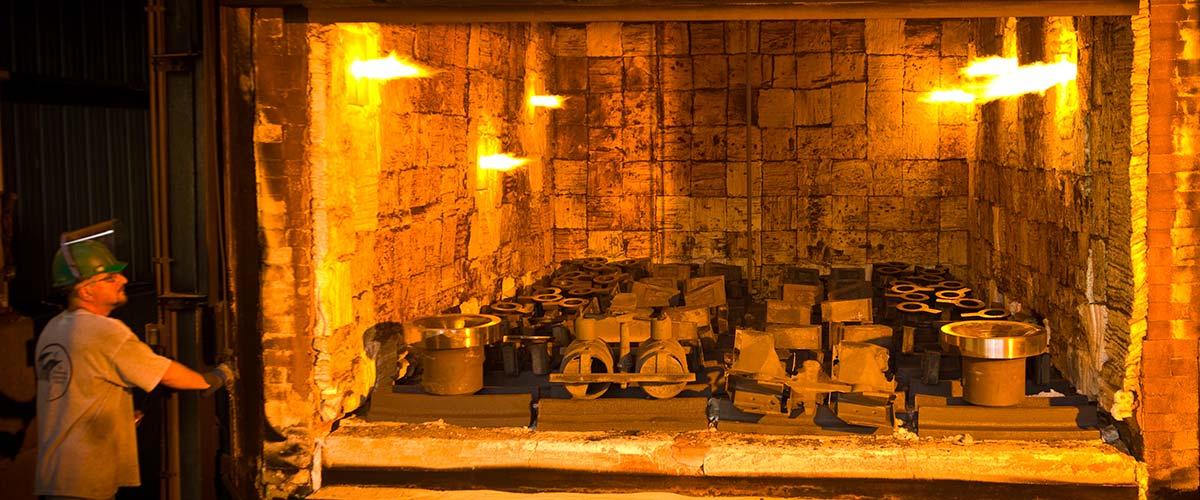 12' x 20' car bottom furnace